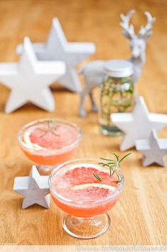 Grapefruit-Rosmarin-Mocktail {weihnachtsmenü 2016}