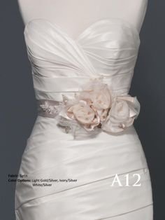 2012 new fashion hand made flower long belt style 0a00067