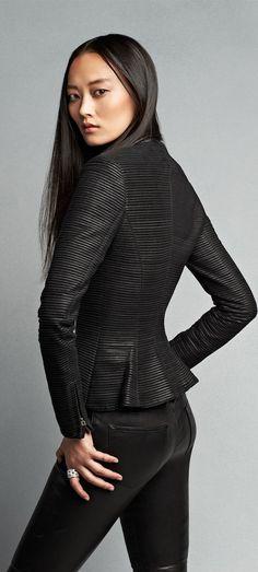 Ralph Lauren Leather Fianna Jacket Mein Style, Winter Typ, Classic Style  Women, Trendy 88dec936c7
