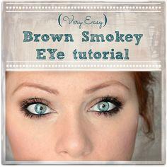 Very Easy Brown Smokey Eye
