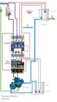 Esquemas eléctricos: Esquema motor bomba