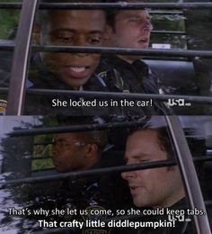 """That crafty little diddlepumpkin!"" Awww! Psych Season Five Episode We'd Like To Thank The Academy"