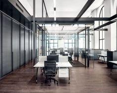 Transparenz und der Erhalt der Ursprungsform waren auch beim Einbau der Büros oberste Maximen. (Foto: Fendi)