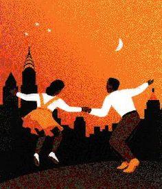 swing dancing - great artwork ..