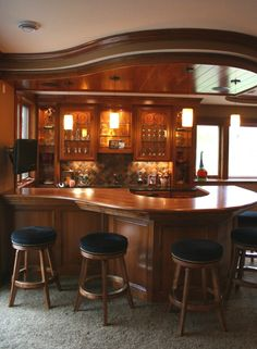 Top 10 Home Bars - | Wood bars, Bar and Woods