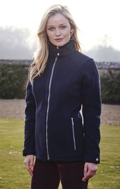 Keep the chilly wind out with the Schoffel Ladies Clipsham Fleece Jacket...  #Schoffel #CountryClothing #Fleece