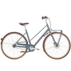 Leicht und stilvoll geht´s auf große Stadttour - und dank robuster Komponenten auch immer gut zurück     Rahmen sportiver Aluminium-Rahmen mit innenverlegter Kabelführung   Rahmengrößen 45 cm, 50 cm   Fork starre Stahlgabel,...