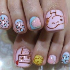 Snoopy toes