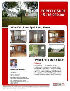 4220-50 Street Spirit River Alberta MLS L104989