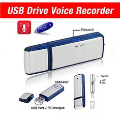 Best USB Flash Drive- USB Voice Recorder- Memory Stick- Thumb Drive- Dictaphone- 8GB- Pendrive - Compatible with Windows, Mac, PC- 1 Year USB flash Drive & Electronics http://www.amazon.com/dp/B00Q8FYXB8/ref=cm_sw_r_pi_dp_oPMRvb1W85X5X