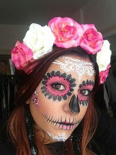 makeup and clothing for day of the dead celebrations - Google Search