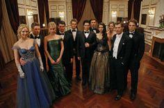 Nina Dobrev Elena Gilbert Ball Gown Dress Vampire Diaries Black Grey Costume