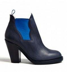 #1 on my wishlist: #Acne Blue Star Pull on Ankle Boots