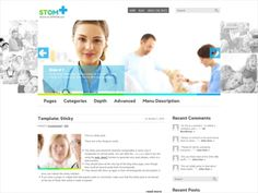 Are you a medical expert looking to give your business a boost on the internet with a premium WordPress theme? Look no further as Stom has all that you can only imagine and much more. It has abundance of white and blue and gives a very reassuring presence to readers. So download Stom, a theme that is simple and beautiful on the outside but boasts of complex features such as integrated Google Maps Shortcode, Custom Sidebars and Responsive Web Design