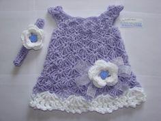 Easter Newborn Baby Girl Dress Headband Set by OtiliaBoutique, $39.00
