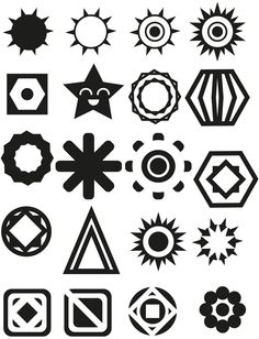 Formes simplifiées (Illustrator)