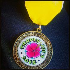 Booyah! I got it. The San Antonio Trader Joe's #Fiesta medal.