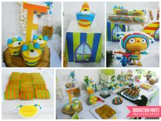 Monsters Birthday Party Ideas!  See more party ideas at CatchMyParty.com!