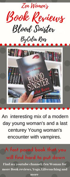 A down to earth, real review of this book! #celiareesbookreview #bloodsinisterbookreview Vampire Books, Latest Books, Book Reviews, Book Recommendations, Good Books, Blood, This Book, Earth, Reading