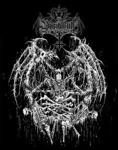 Death Metal Illustrations by Mark Riddick | Abduzeedo Design Inspiration & Tutorials