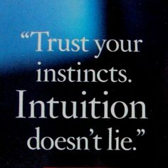 Life Quotes And Words To Live By : Trust your instincts. Intuition doesn't lie. An Oprah quote from tfisherart. Oprah Quotes, Trust Quotes, Quotable Quotes, Words Quotes, Quotes To Live By, Me Quotes, Sayings, Faith Quotes, The Words