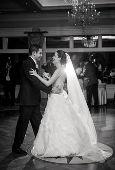 Bride and groom's first dance to Jason Mraz's I Won't Give Up at wedding reception (Laura Leigh Photo)