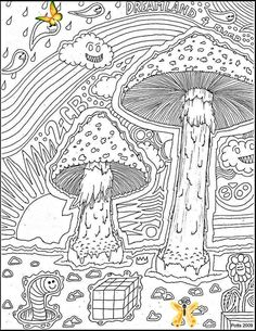 Mushrooms In The Wind by jpotts90 on DeviantArt <br>