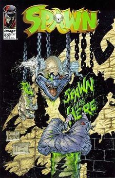 Spawn 60 - Clown Head - Hanging Meat Hooks - Darkness - Carcass - Cut Up - Greg Capullo, Todd McFarlane