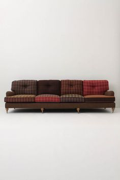 oh i love this... idea for reupholstering ours? anthropologie of course...