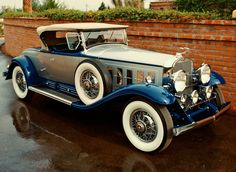 1930 Cadillac V16 452-A Roadster - (Cadillac Motors, Detroit, Michigan 1902-present)