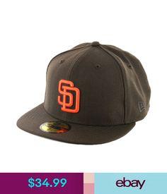 Hats Era 59Fifty San Diego Padres Co 1990 Fitted Hat (Brown/Orange) Men's Mlb Cap #ebay #Fashion
