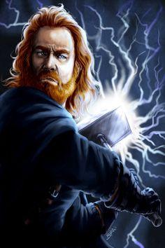 Old Gods: Thor by OFools.deviantart.com on @deviantART