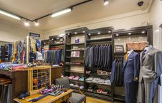J. Michael's Clothiers is a sophisticated men's clothing store featuring high-quality garments. #NashvilleNeighborhoods #MusicCity #Nashville