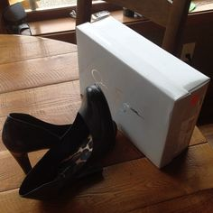 """Jessica Simpson """"Dream Nappa"""" Black Pump New In Box. Beautiful black leather pumps. Heel measures 4 1/4"""". Lightly cushioned footbed, non slip sole, comfortable and true to size. Price firm. No trades. Jessica Simpson Shoes"""