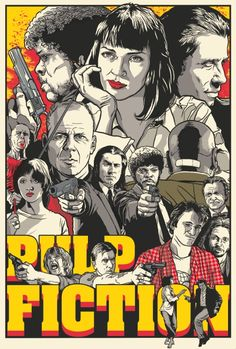Pulp Fiction http://www.postershizzle.com/tag/josh-budich/