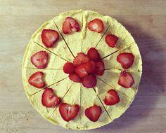 Mangovo-tvarohová torta (raw vegan mango cheesecake)  #torty #raw #vegan #bezlepkove #recepty