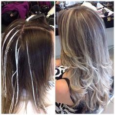 Essas luzes foram feitas no meu cabelo pelo Isac Ribeiro. Muito fera ele. O cabelo fica muito mais saudável com esse método. Amei.