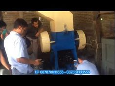 Mesin penggiling kain