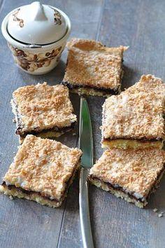 thermomix_ciasto_kokosowe Krispie Treats, Rice Krispies, French Toast, Food And Drink, Cooking Recipes, Menu, Bread, Breakfast, Beverage