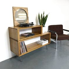 Offset Medium 120cm Wide Vinyl Record Storage Cabinet