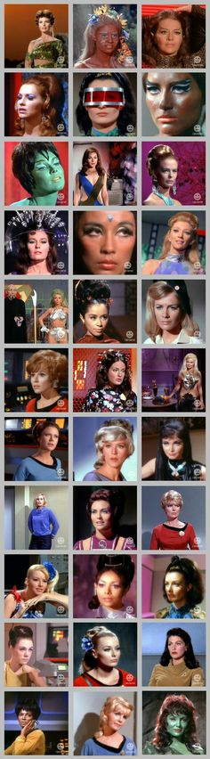 The alien women of TOS