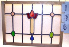 Old-SASH-Vintage-Leaded-English-stained-glass-window