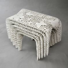 These are actually stools... Monarch Stools by Designer Janne Kyttänen