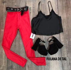 Outfits Pantalon Negro, Fiesta Outfit, En Stock, Sad Girl, Club Outfits, Indian Dresses, Ibiza, Curvy, Ootd