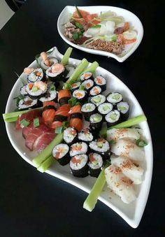 Het hoeft niet elke dag vlees te zijn - Sushi