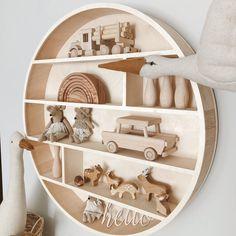 Shelfie kids room decor Round Shelf, Room Decor, Wall Decor, Shelfie, Kids Room, Etsy, Author, Wall Hanging Decor, Room Kids