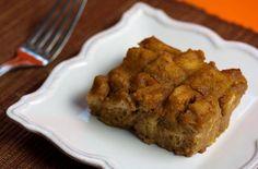 Pumpkin Bread Pudding