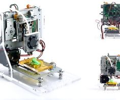 Impresora 3D de reciclaje informatico