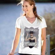 """Tricou incredere, din bumbac cu inscriptia motivationala """"Confidence is the sexiest thing a woman can have"""". I Dont Like You, V Neck, T Shirts For Women, Sarcasm, Sexy, Confidence, Woman, Tops, Fashion"""