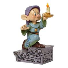 Disney Traditions Dopey Figurine - A Light In The Dark - Jim Shore 4043642 #FineGiftsNottingham #DopeyFigurineDisneyTraditionsJimShore #LightInTheDark